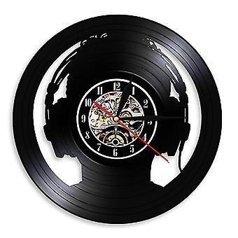7# Rock musikk vinyl plate veggklokke az10728