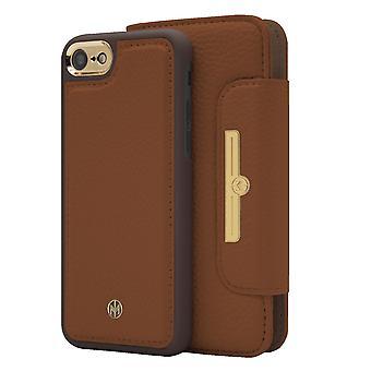 iPhone 6/6s/7/8/SE Marvêlle Magnetiskt Skal & Plånbok