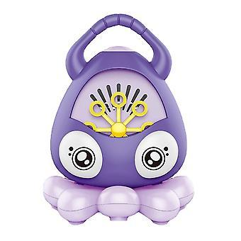 Octopus Design Machine à bulles automatique avec corne