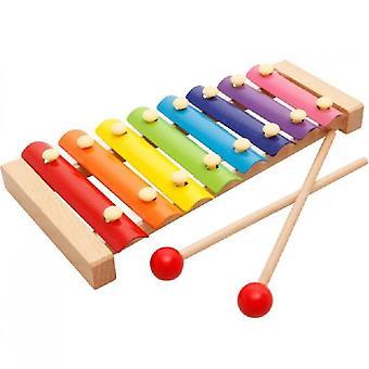 Caraele Toddler Instruments de musique, Instruments de percussion en bois Jouet éducatif