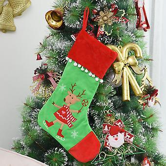 Christmas Stocking New Decoration Gift Christmas Tree Pendant Christmas Gift Bag