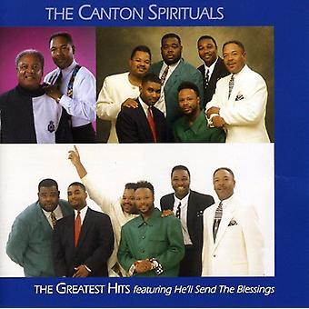 Canton Spirituals - Greatest Hits [CD] USA import