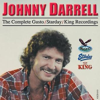 Johnny Darrell - Johnny Darrell: Complete Gusto/Starday [CD] USA import