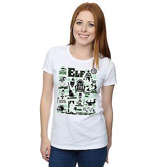 Elf Women's Infographic Poster T-Shirt