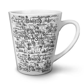 Geek Lifestyle Art NEW White Tea Coffee Ceramic Latte Mug 12 oz | Wellcoda