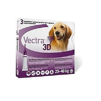 Vectra 3D Large Dog 25-40kg, 3Pk