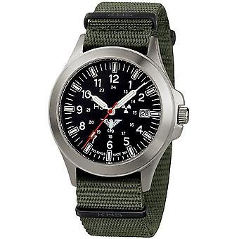 KHS orologi mens watch plotone titanio KHS.PT.NO