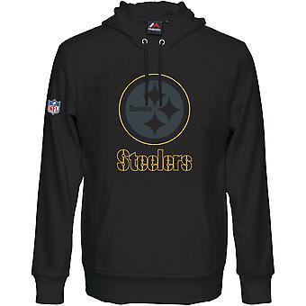 Majestic HEATHLY Hoody - NFL Pittsburgh Steelers Black