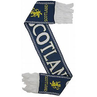 Schottland Löwe zügellos Navy Rugby-Schal