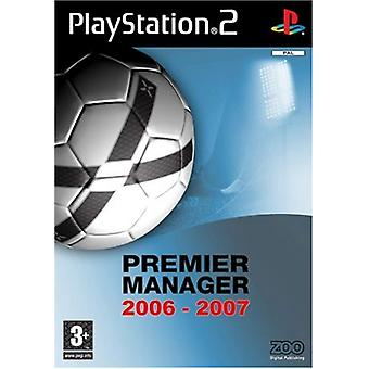 Premier Manager 2006-07 (PS2) - New Factory Sealed