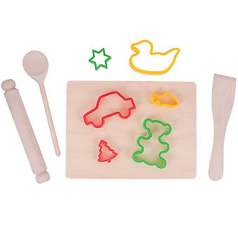 Bigjigs Toys Children's Pastry Set Baking Kit Pretend Role Play Kitchen