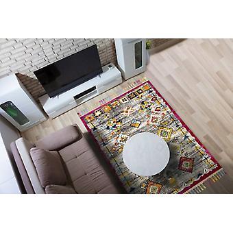 Royal de Marrakech 2207B Rectangle gris tapis couvertures traditionnelles