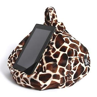 Ipad, tablet & ereader bean bag stand by ibeani - baby giraffe