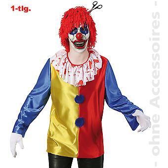 Horror clown mannen kostuum zombie clown Halloween heren kostuum