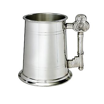 21 chave identificador 1 Pint do Pewter Tankard