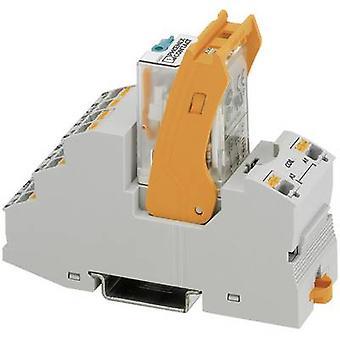 فينيكس الاتصال RIF-2-RPT-LV-24AC/2X21 ترحيل مكون الجهد الاسمي: 24 V AC التبديل الحالي (كحد أقصى): 8.5 A 2 تغيير المبالغ 1 pc (ق)