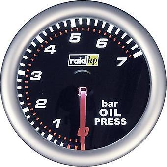 raid hp Oil Pressure Gauge 0 to 7bar 12V