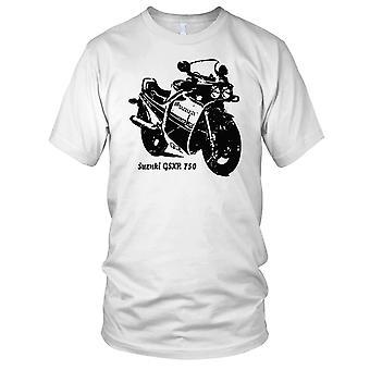 Suzuki GSXR 750 klassiske motorsykkel Mens T-skjorte