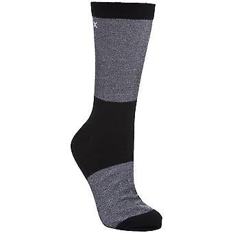 Trespass Mens Tippo Two Tone Lightweight Coolmax Socks (1 Pair)