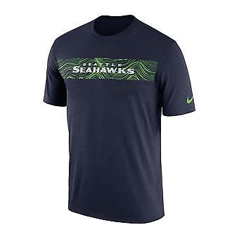 Nike Nfl Seattle Seahawks nebenberuflich seismische Legende Performance T-shirt