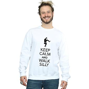 Monty Python Men's Keep Calm Sweatshirt