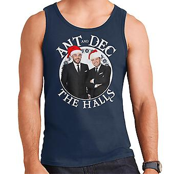 Ant And Dec The Halls Christmas Men's Vest