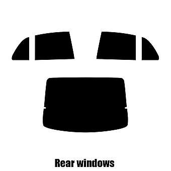 Pre cut window tint - Mazda 626 5-door Hatchback - 1998 to 2002 - Rear windows