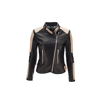 "JN Llovet leather jacket - ""Caracas"""