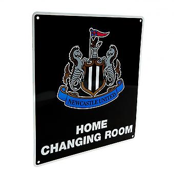 Newcastle United FC Official Home Changing Room Sign