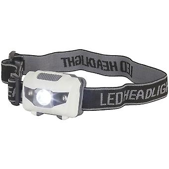 TechBrands 3W LED Head Torch w / 2 LEDs rouges