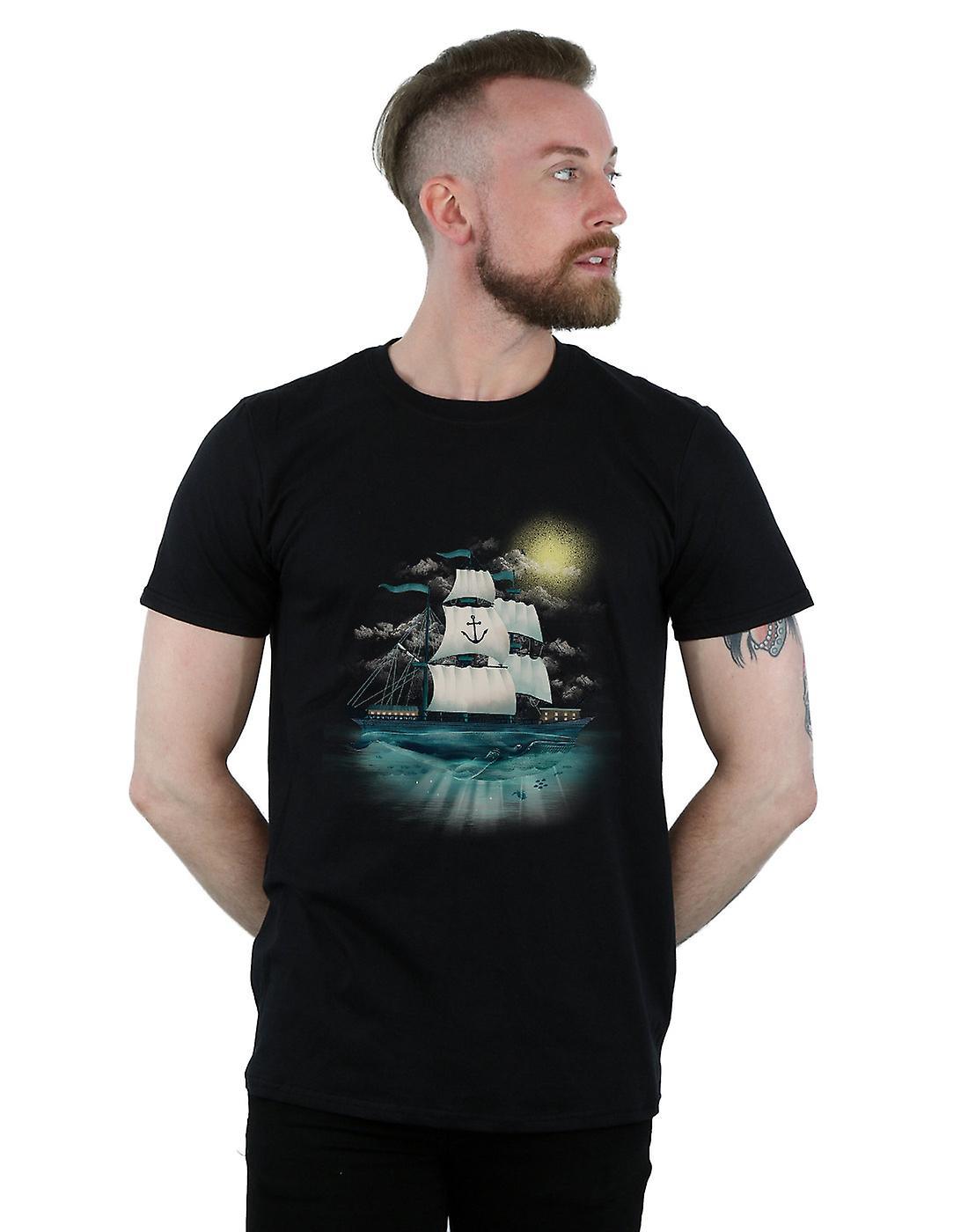 Dan Dingeroz Men's Nautical Scene T-Shirt