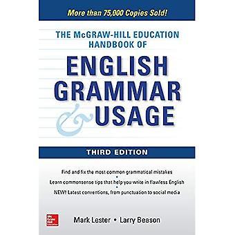 McGraw-Hill utbildning handbok för engelsk grammatik & användning