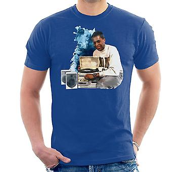 TV volte Andi Peters con t-shirt uomo un HiFi 1988