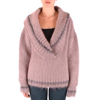 Peuterey Ezbc017104 Women's Pink Wool Sweater
