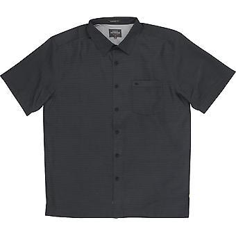 Quiksilver Herren Waterman Kollektion Centinela 4 SS Shirt - schwarz