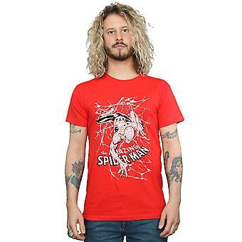 Marvel Spiderman Web Crawler T-Shirts für Herren