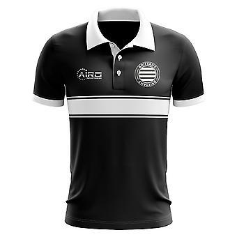 Brittany Concept Stripe Polo skjorte (sort)-børn