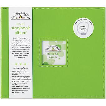 Doodlebug Design Limeade 12x12 Hüvelykes mesekönyv album
