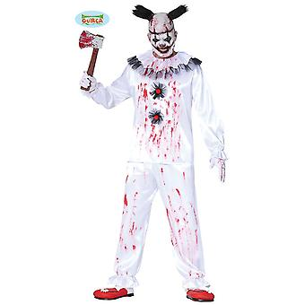 Guirca Browsisted Horror Clown Halloween Costume Men's