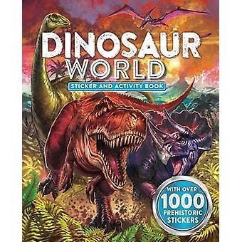 Dinosaur World Sticker and Activity Book by Little Bee Books - 978149