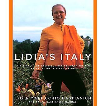 Lidia van Italië: 140 eenvoudige en lekkere recepten uit de tien plaatsen in Italië Lidia houdt de meeste