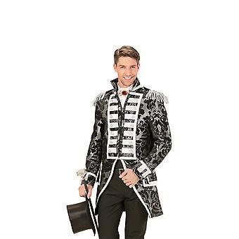 Silver jacquard Parade Tailcoat