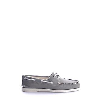 Sperry Ezbc285001 Women's Grey Fabric Loafers