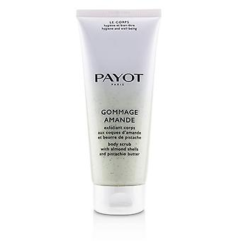 Payot Gommage Amande Body Scrub With  Almond Shells & Pistachio Butter - 200ml/6.7oz