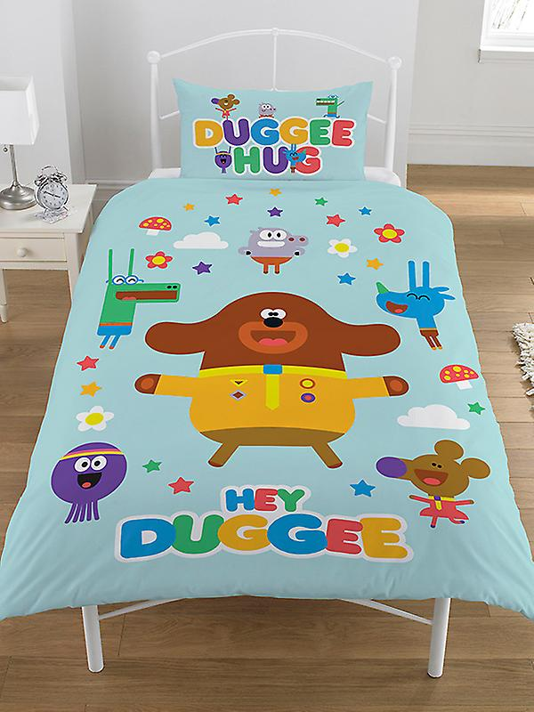 Hey Duggee Hello Squirrels Single Duvet Cover Set