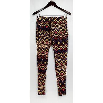 H.I.P. Pants Printed Jogger Style w/ Pockets Black