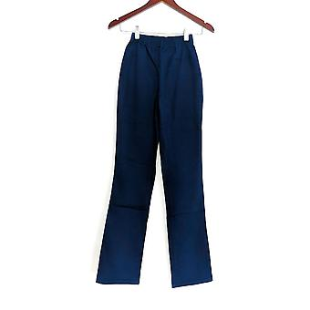 Denim & Co. leggings TXXS stretch høj støvle cut blå A01725
