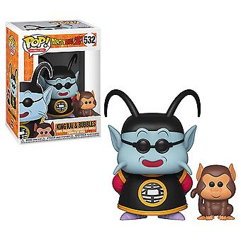 Dragon Ball Z Król Kai & Bubbles Pop! Winylu