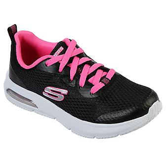 Skechers Kids Dyna-Air - Jump Brights Lace Up Memory Foam Trainer