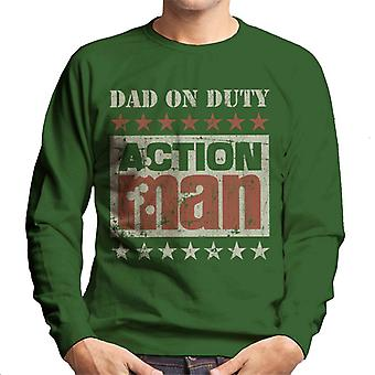 Action Man Dad On Duty Men's Sweatshirt